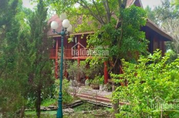 Cực hiếm khuôn viên nhà vườn sẵn nhà sàn 4300m2 ở Lương Sơn Hòa Bình. LH 0917.366.060