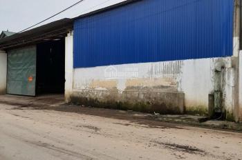 Bán kho xưởng có sẵn 2000m2 container vào tận cửa ở Hòa Lạc, Hà Nội