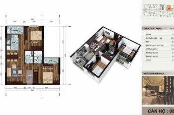 Bán căn hộ thương mại 2 phòng ngủ The Vesta - 67m2, giá 1,17 tỷ. LH 0984797889