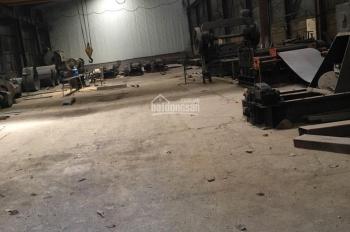 Cho thuê nhà xưởng 1100m2 tại cụm công nghiệp Hoà Sơn