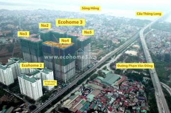 1,5 tỷ/căn chung cư Ecohome 3 không chênh căn góc 68m2 - Quỹ Căn Độc Quyền