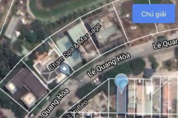 Bán đất đường Lê Quang Hoà giá quá rẻ đối diện Chăm Spa, 4,3 tỷ. LH: 0935.843.114