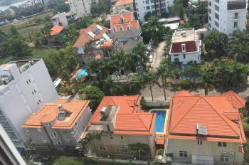 Cho thuê CH Thủ Thiêm Sky Thảo Điền quận 2, 2PN 2WC 61m2, full nội thất, giá 12 tr/th LH 0911328598