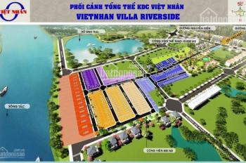 Đất Villa Riverside Nguyễn Xiển cách vincity 700m, DT 52m2, giá 2.1 tỷ, LH 0987.20.80.10