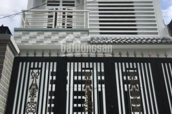Nhà mới, DT: 4x20m, 4PN, 3WC, HXH Gò Dầu, P. Tân Quý, Q. Tân Phú, giá: 13tr