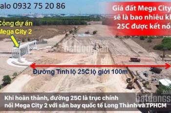 Mega City 2 đất nền trung tâm Nhơn Trạch, giá rẻ chỉ 700tr, LH 0932 752 086