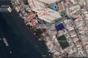 Bán đất 2MT Nguyễn Văn Hưởng + Sông Sài Gòn - Gần lãnh sự Malaysia 1287m2 giá 149 tỷ 0977771919