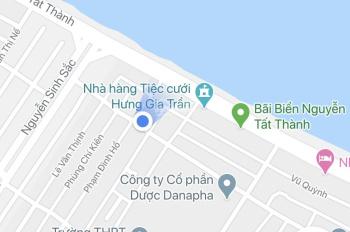Bán lô đất 2 mặt tiền Dũng Sỹ Thanh Khê. DT: 6,3x20m, tiện xây khách sạn, quán cafe