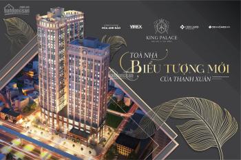 Chung cư cao cấp King Palace - tháng 10/2020 bàn giao - giá 4 tỷ/3PN 105m2 - ngay gần Ngã Tư Sở