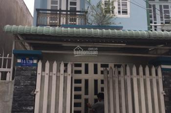 Bán nhà 1 lầu đường bê tông 5m sẹc Nguyễn Thị Ngâu, gần sân banh VS chợ Thới Tứ