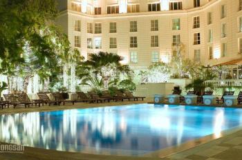Cho thuê khách sạn 28 phòng mặt phố Hàng Gai 140m2 x 8 tầng, MT 4m. LH: 0946850055