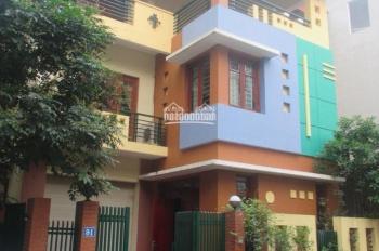 Cho thuê nhà biệt thự Mễ Trì Thượng, P. Mễ Trì, Nam Từ Liêm 130m2 x 4T, MT 8m ô tô đỗ 3 cái