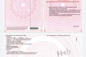 Chính chủ bán lô đất, sổ hồng riêng, giá 350tr, bao giấy phép xây dựng, LH 0932.136.186