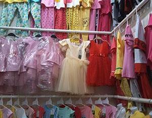Do xuất cảnh sang sạp quần áo chợ Thị Nghè Bình Thạnh