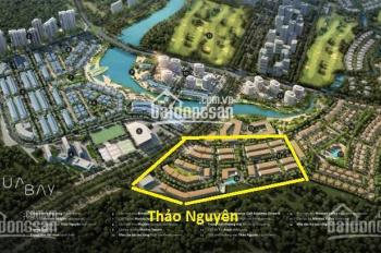 Bán căn nhà phố Thảo Nguyên 100m2 đã hoàn thiện giá 6.9 tỷ bao phí, LH 0961919990