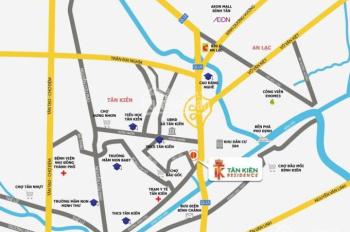 Bán gấp đất giá chủ đầu tư KDC Tân Kiên Residence, Bình Chánh, DT: 80m2 - 19tr/m2, 0356374740
