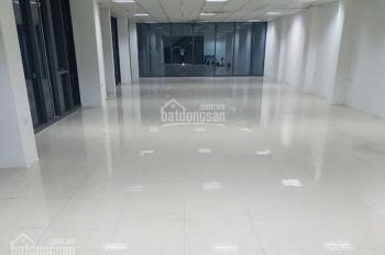 Cho thuê sàn văn phòng 130m2 tòa nhà mặt phố Nguyễn Trãi, tòa văn phòng 11 tầng