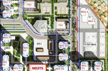 Cho thuê sàn thương mại tầng 1A chung cư N03T5 Ngoại Giao Đoàn