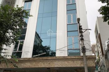 Cho thuê toà nhà mặt phố Trần Đăng Ninh - Cầu Giấy, 180m2 * 8 tầng, MT: 12m, thang máy, 250tr/tháng
