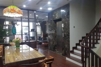 Cho thuê nhà khu biệt thự Vườn Đào mới xây cực đẹp có thang máy