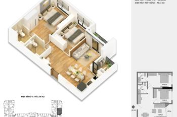 Bán cắt lỗ căn hộ Anland 2 - 66m2 view biệt thự, giá 1.750 tỷ bao phí, 0976974923
