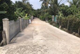 Vườn trái cây mini cạnh bờ sông Sài Gòn ngang 10m tại đường An Sơn 37