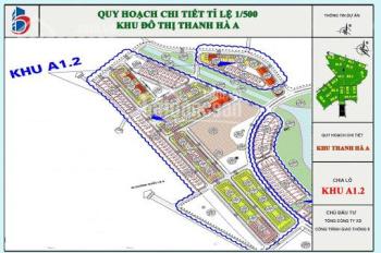 Bán nhiều lô đất nền giá rẻ tại dự án Thanh Hà Mường Thanh. Lh ngay: 0983129898