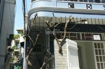 Nhà tôi cho thuê nhà 1 trệt 2 lầu (2 mặt hẻm - xe tải). LH tôi chính chủ 0913879313