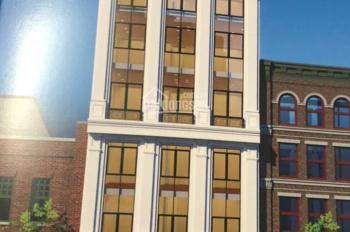Bán tòa nhà 8 tầng mặt phố Lê Đức Thọ - Trần Vĩ. DT 140m2, MT 6,6m