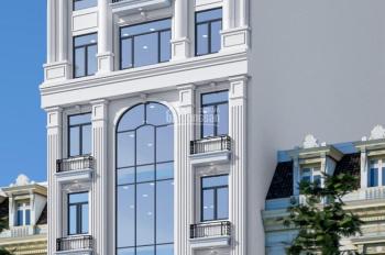 Bán tòa VP 8 tầng DT 280m2 mặt phố Trần Vỹ - Lê Đức Thọ, vị trí đắc đia. Giá 86 tỷ