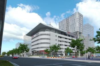 Cho thuê mặt bằng tầng 1 tòa nhà Toyota Mỹ Đình, 230m2, mặt tiền 32m, làm ngân hàng, cafe