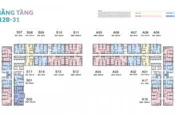 Suất ngoại giao căn 02 4 phòng ngủ, 123m2 căn góc ĐN duy nhất tầng đẹp nhất tại Mipec Cầu Giấy