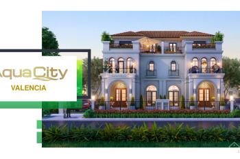 Aqua City - nhận booking phân khu Valencia, giá chỉ 4,9 tỷ, cam kết mua lại 45%, LH 0938780895