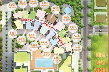 Bán penthouse sân vườn Him Lam Riverside Quận 7, 189m2 4PN 3WC giá gốc CĐT 28tr/m2, LH 0908.462.088