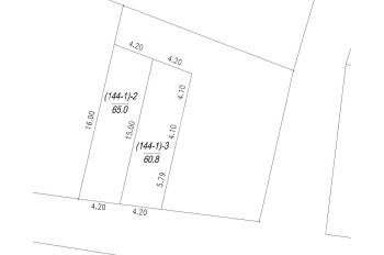 Chính chủ cần bán hai lô 60.8m2 và 65m2 đất thổ cư, tổ 6 Giang Biên, mặt tiền 4.2m, hướng chính Nam