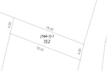 Chính chủ cần bán 73.2m2 đất tổ 5 Giang Biên, MT 4m, hướng chính Đông, ngõ thông rộng ô tô tránh