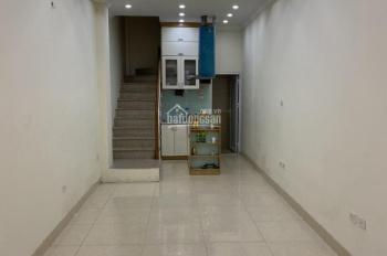 Cho thuê nhà riêng phố Võ Văn Dũng 38m2 x 4T, MT 3m, nhà mới, thông sàn, giá 17 triệu/tháng