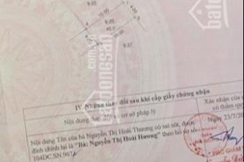 Cc bán đất LK Ngô Thì Nhậm Hà Cầu, HĐ ô tô vào, KĐT S40m2, mt 4m, giá 4,1tỷ. LH 0943397664 Thùy Vân