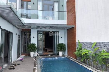 Cần bán villa đầu tuyến Lý Tử Tấn 3PN có hồ bơi. Dt 180m2, 12 tỷ