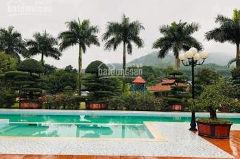 Chuyển nhượng biệt thự mặt hồ tuyệt đẹp bậc nhất Lương Sơn - HB cách thị trấn Xuân Mai 3km