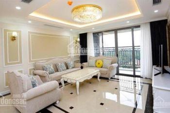 Cho thuê căn hộ Vinhomes D'Capitale Trần Duy Hưng, 110m2, 3PN, full đồ, giá 18tr/th LH: 0915586141