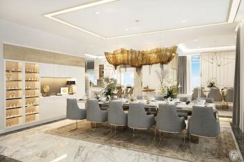 Cần cho thuê căn hộ 3PN Saigon Royal, đầy đủ nội thất 114m2, giá 37 triệu/tháng. LH 0977771919