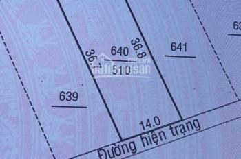 Bán 510m2 đất nông nghiệp, hẻm 3m ngay trung tâm giá rẻ