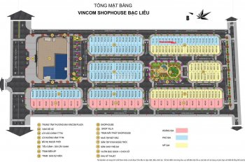Giá F1 Vincom Bạc Liêu các căn shophouse Và villa đường Trần Huỳnh