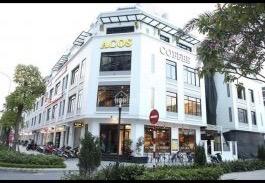 Bán lô góc shophouse Vinhomes Gardenia Mỹ Đình mặt phố Hàm Nghi DT 88m2 - MT 6m*5 tầng giá 31 tỷ
