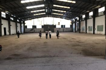 Cho thuê 2200m2 kho - nhà xưởng - chành tại trung tâm Bình Chánh