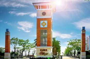 Bán đất biệt thự Euro Village hướng Tây, diện tích 250m2, giá 70 triệu/m2 - Toàn Huy Hoàng