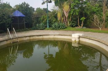 Nhượng lại 4100m2 khuôn viên biệt thự nhà vườn đẹp giá rẻ Lương Sơn, Hòa Bình