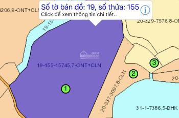 Đất xã Thanh Bình, Trảng Bom, Đồng Nai, 20000m2, giá 380tr/sào