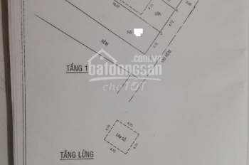Cần bán gấp nhà hẻm 7m đường Lê Trọng Tấn, DT 4.7x18 vuông vức, giá rẻ hơn thị trường